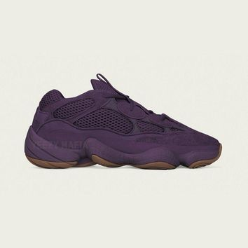 "Kanye West x adidas Yeezy 500 ""Ultraviolet"" Retro Sneaekr EE7287"