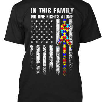 In Family No One Fights Autism Alone