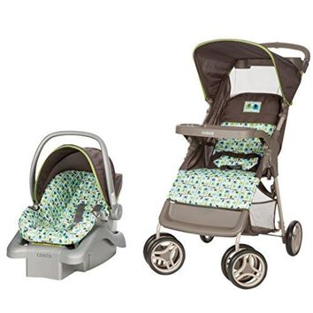 Travel System - Car Seat and Stroller – Suitable for Children Between 4 and 22 Pounds