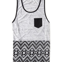 Aztec Block Print Pocket Tank