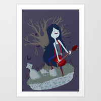 Marceline Art Print by Tae V