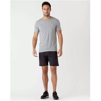 Olivers - All Over Lined Black Shorts
