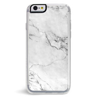 Stoned White Marble iPhone 6/6S Case