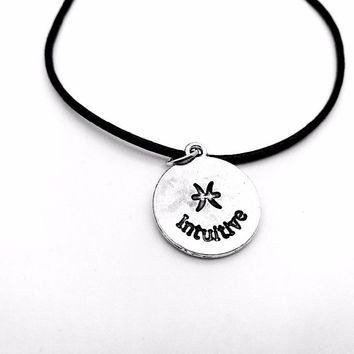Pisces Zodiac Rope Necklace