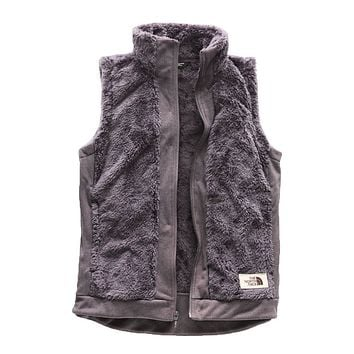 Women's Furry Fleece Vest in Rabbit Grey by The North Face