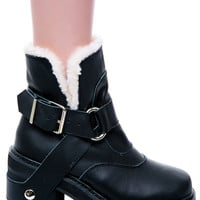 UNIF Sherpa Boot Black