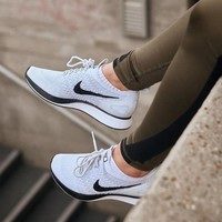 Nike Air Zoom Mariah Flyknit Fashion Trending Casual Sports Shoes Sneakers White G