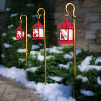 The Synchronized Musical Pathway Lights - Hammacher Schlemmer