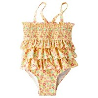 Circo® Infant Toddler Girls 1-Piece Floral Swimsuit