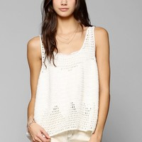 Somedays Lovin Cotton Crochet Tank Top - Urban Outfitters