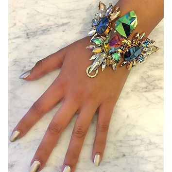 Blinged Out Hand and/or Ankle Bracelet