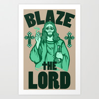Blaze the Lord Art Print by LookHUMAN