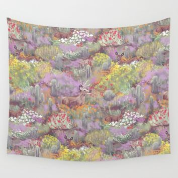 Life in Death Valley Wall Tapestry by Ben Geiger