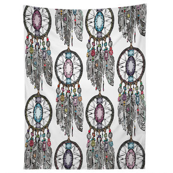 Sharon Turner Gemstone Dreamcatcher Tapestry