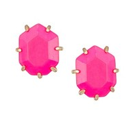 Morgan Stud Earrings in Neon Pink - Kendra Scott Jewelry