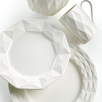 kate spade new york Dinnerware, Castle Peak Cream Collection