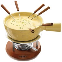 Boska Holland Geneva Collection Cheese Fondue Set, Yellow:Amazon:Kitchen & Dining