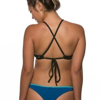 Reversible Kian Bottom - Deep Blue Sea/Hawaii Blue