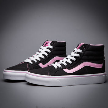 Trendsetter VANS SK8-Hi Canvas Ankle Boots Flats Sneakers Sport Shoes 11bbc3f2f52