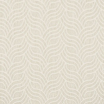 Sample of Nouveau Wallpaper in Pearl design by York Wallcoverings