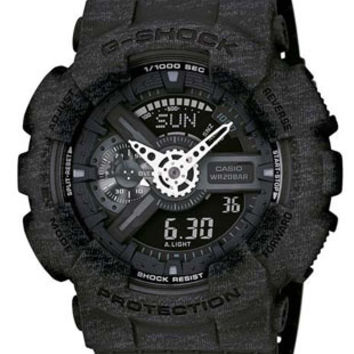 Casio G-Shock Big Case - Black Heather Pattern - Magnetic Resistant - 200M