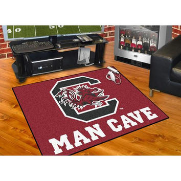 South Carolina Gamecocks NCAA Man Cave All-Star Floor Mat (34in x 45in)