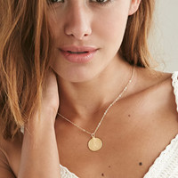 Moon And Lola Small Dalton L Necklace