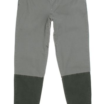 Modern Amusement Pieced Canvas Jogger Pants - Mens Pants - Brown