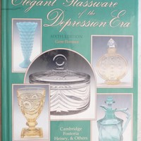Elegant Glassware of the Depression Era 6th Edition Gene Florence Vintage