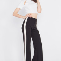 Track Starr Flare Pants