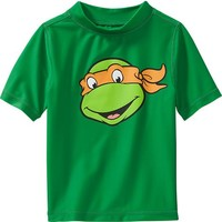 Old Navy Teenage Mutant Ninja Turtles Rashguards For Baby