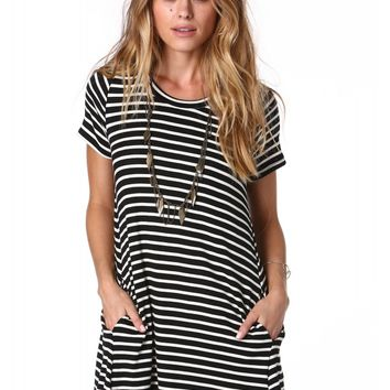 Lush Casual Fridays Mini Dress