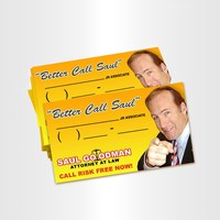 """Better Call Saul"" Business Cards"
