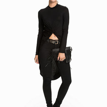 Long Sleeve Knotted Top, NLY Trend