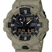 G-Shock Men's Analog-Digital Beige Resin Strap Watch 53mm Jewelry & Watches - Watches - Macy's