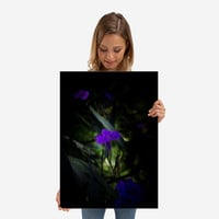 Violet flowers by Vanessa GF | Displate