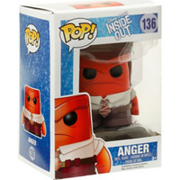Funko Disney Pop! Inside Out Anger Vinyl Figure