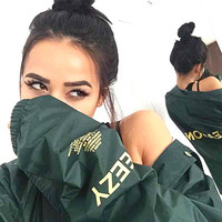 YEEZY SEASON 3 Unisex Lover's Sports Coat Windbreaker