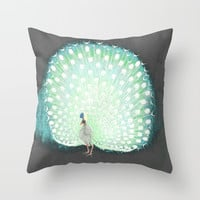 The tail that blinds. Throw Pillow by anipani