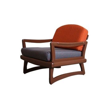 Pre-owned Mid-Century Modern Danish Lounge Chair