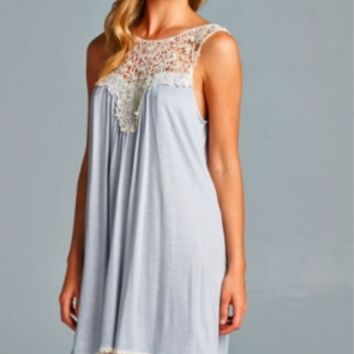 Silver Dress Lace Top (Coming Soon)