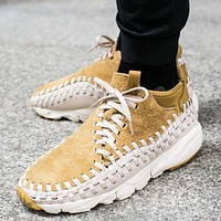 Nike Air Footscape Woven Chukka QS 913929-002 Yellow