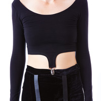 UNIF Harness Skirt Black