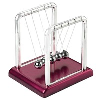 new design newtons cradle fun steel balance balls physics science pendulum desk diy decoration accessory 9cm x 7 5cm x 9 5cm