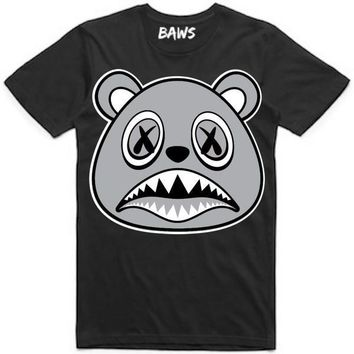 SHADOW BAWS Black Sneaker Tees Shirt