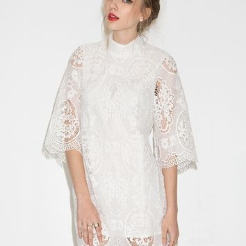 Georgia Bell Sleeve Lace Dress