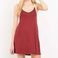 Urban Outfitters Cross Back Ringer Dress - Urban Outfitters
