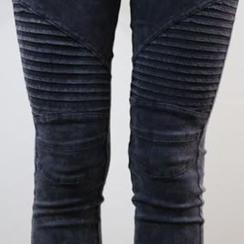 New style autumn fashion jeans Full Length Pencil Pants Zipper skinny causal style 1 _ 9275