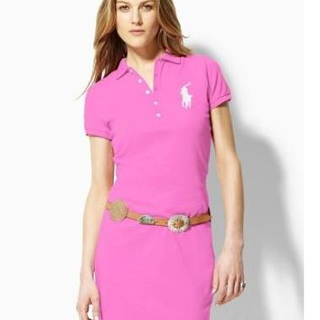 NEW POLO RALPH LAUREN SHIRT WOMEN SKIRT SHORT SLEEVE T-SHIRT SIZE: S-XL-7