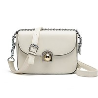 Summer New Ladies Handbag Satchel Small Chili with A Small Round Buckle Shoulder Crossbody Bags Fashion Brand Messenger Bag
